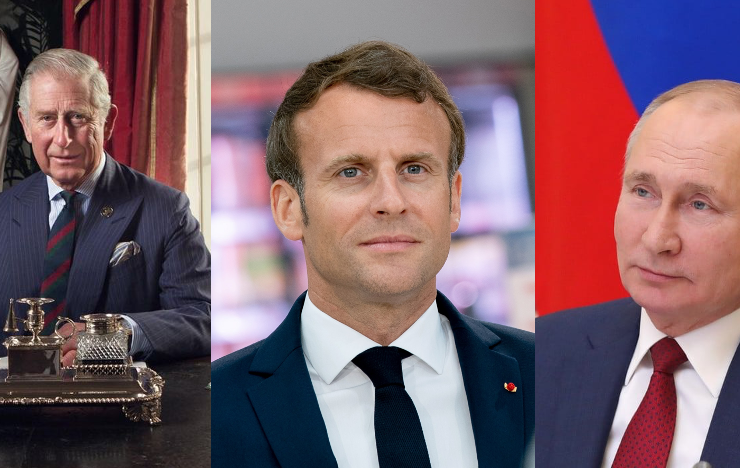 Prince Charles, Macron and Putin to commemorate Greece's Bicentennial