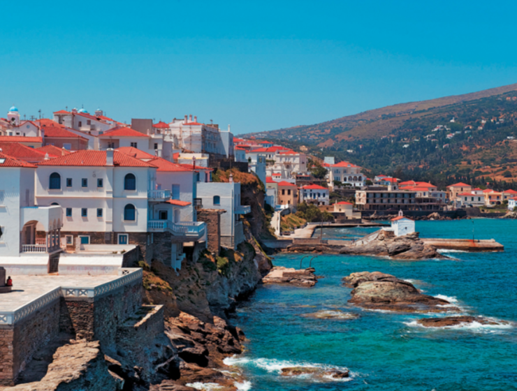The New York Times picked Andros as one of its '52 Places to Love in 2021'