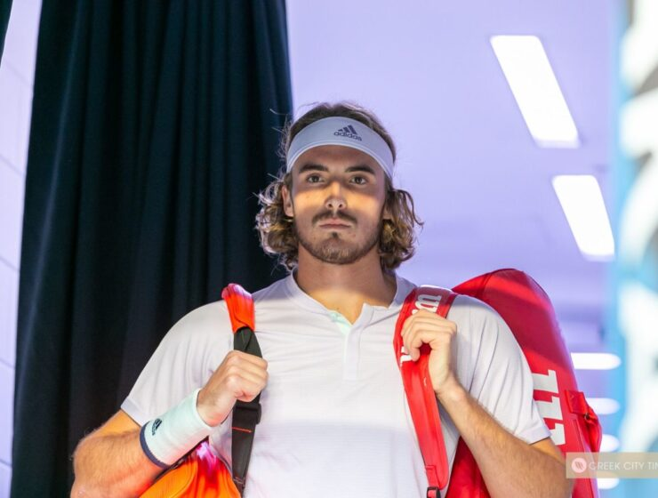 """""""Aussie Greeks are the proudest people I know"""", says Stefanos Tsitsipas"""