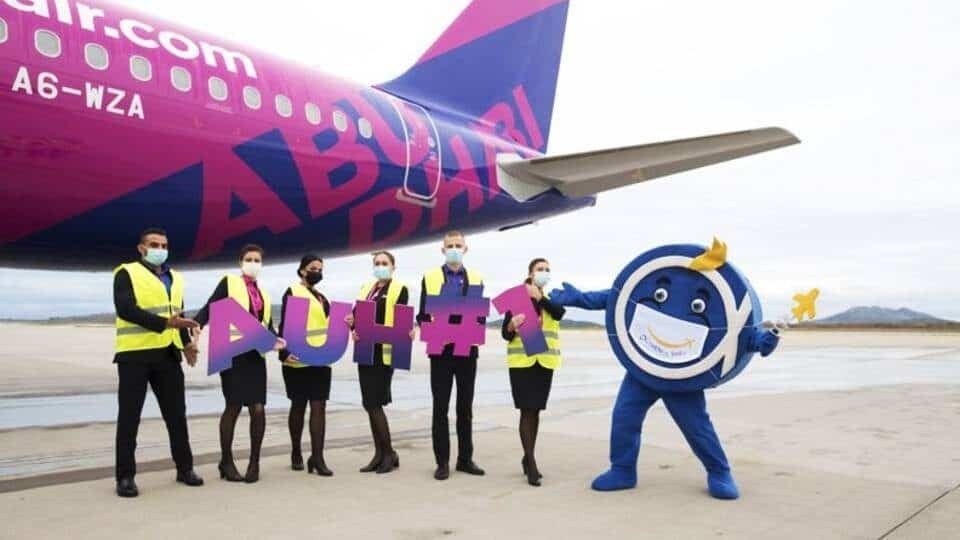 Wizz Air Abu Dhabi operates inaugural flight to Athens