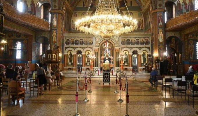 Holy Synod rejects government decision to close places of worship on Epiphany