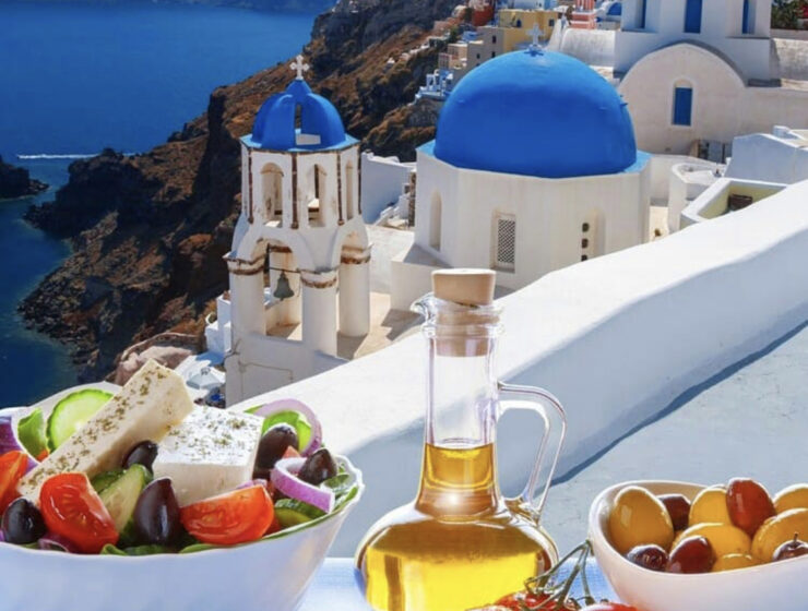 Santorini Greek foods