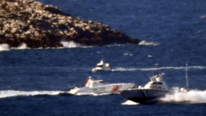 Imia: Collision of Greek, Turkish Coast Guard boats