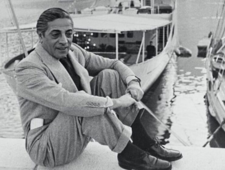 On this day in 1906, Greek tycoon Aristotle Onassis was born