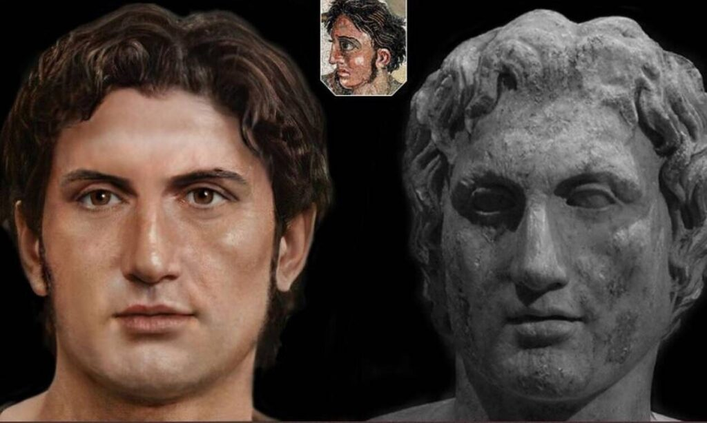 Artist reconstructs faces of famous Ancient Greeks
