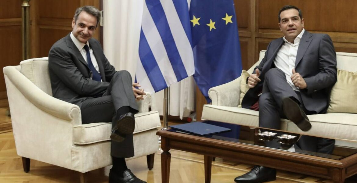 Poll finds Kyriakos Mitsotakis is the most popular political leader Alexis Tsipras