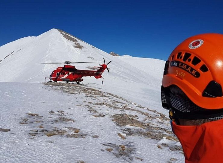 Two doctors killed in avalanche on Mount Olympus
