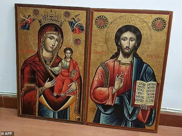 Two stolen 18th-century icons returned to Greece from Lebanon
