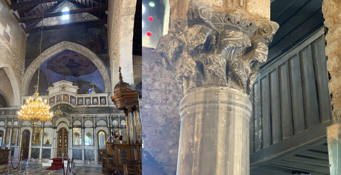 Church of Agia Paraskevi in Halkida is being restored