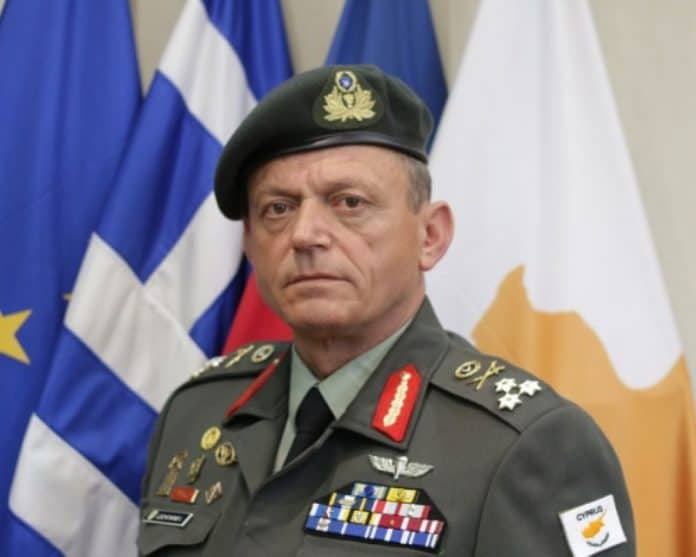 Lieutenant General Ilias Leontaris.