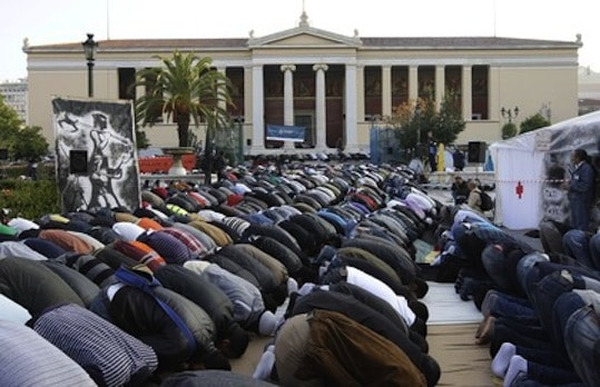 Athens Muslims authorities