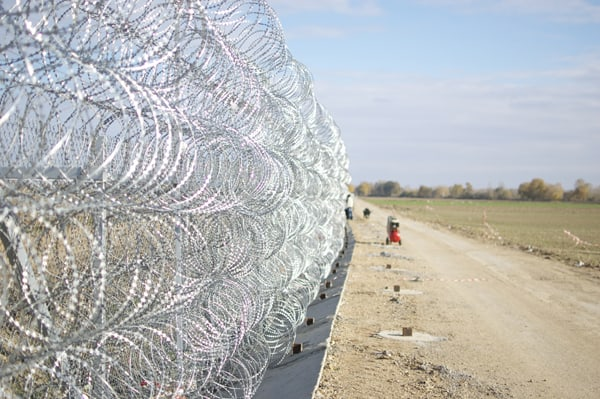 Evros Border Fence Greece