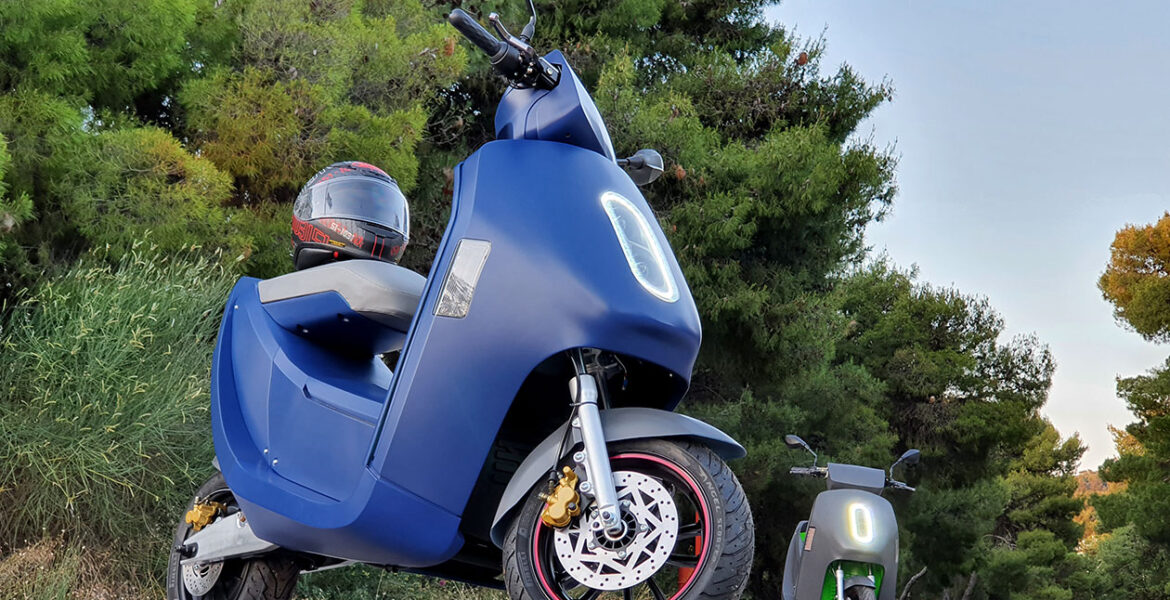 First Greek electric scooter will hit the roads in the summer of 2021