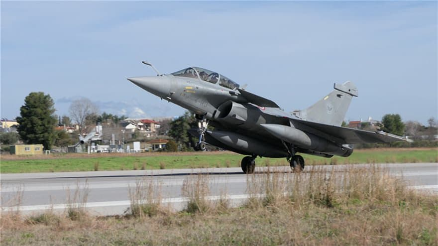 French Air Force participate in Skyros 2021 exercise in Greece 3