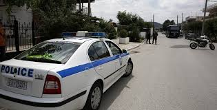 Greek police car