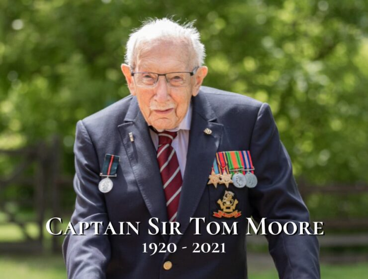 Captain Sir Tom Moore dies aged 100, after covid diagnosis