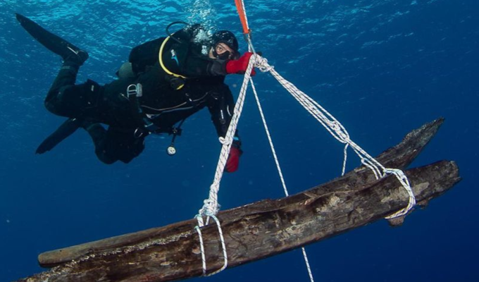 """More 'treasures' retrieved from Lord Elgin's """"Mentor"""" shipwreck"""