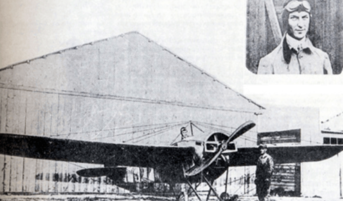 On this day in 1912, the first flight is performed over Greece