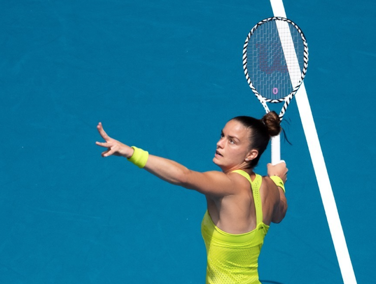 Maria Sakkari's journey at the Australian Open comes to an end