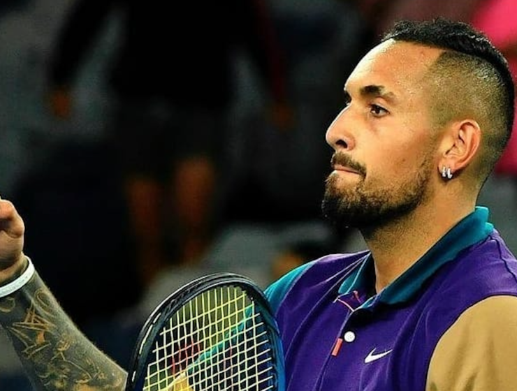 Nick Kyrgios and the broken net sensor at the second round of the 2021 Aus Open