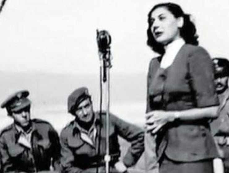"""On this day in 1910, Sofia Vembo """"Songstress of Victory"""" was born"""