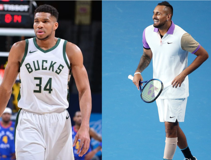 THROWBACK - The Greek Freak calls Nick Kyrgios the 'Dennis Rodman of Tennis'