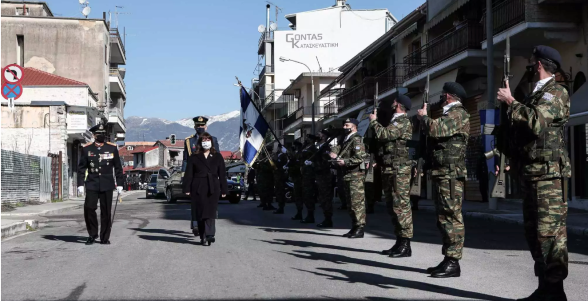Greek President commemorates the 108th anniversary of the Liberation of Ioannina