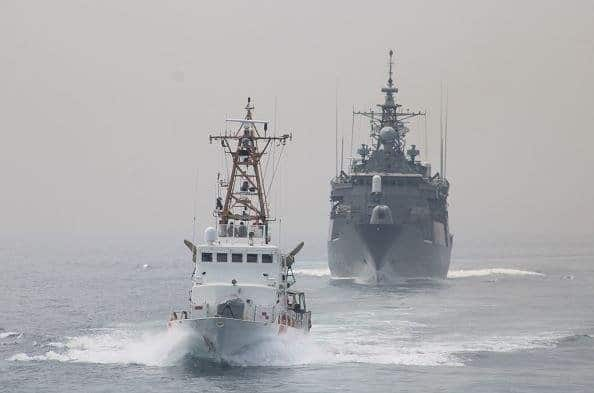 U.S. Coast Guard, Greek navy conduct Arabian Sea exercises 1