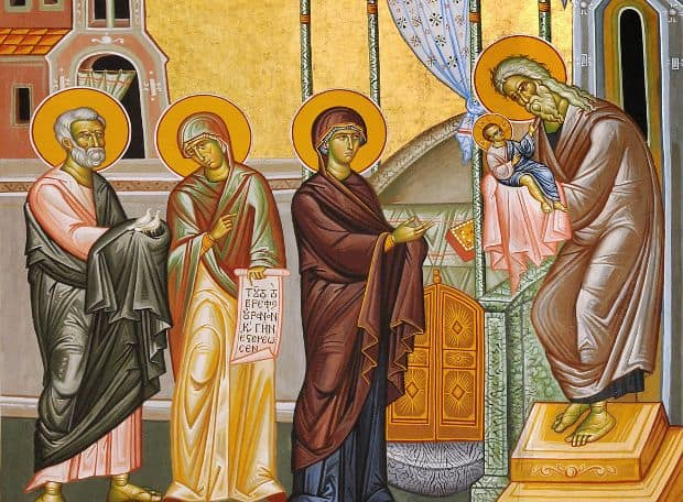 February 2, Feast of the Presentation of Christ to the Temple