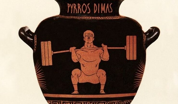 International Olympic Committee honours weightlifting champion Pyrros Dimas