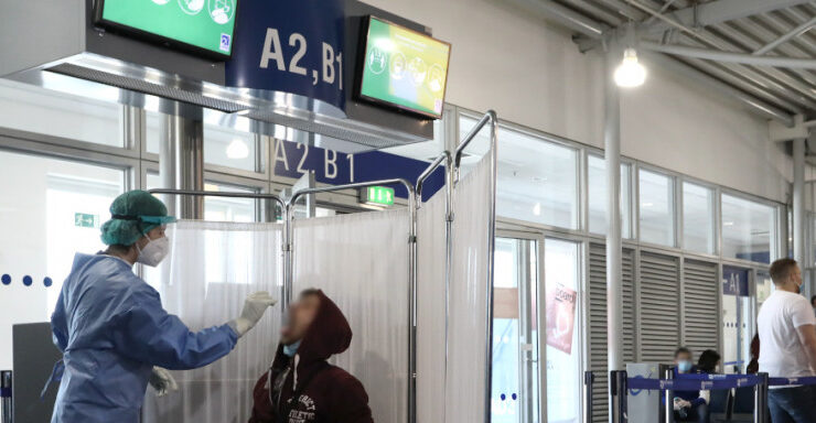 Rapid test compulsory for passengers entering Greece from the UK and UAE