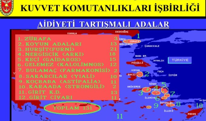 Exposed documents reveal Turkey planned invasion of 131 Greek islands and islets 6
