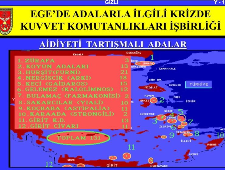 Exposed documents reveal Turkey planned invasion of 131 Greek islands and islets 1