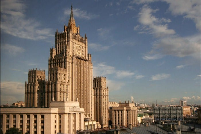 documents Russian Ministry of Foreign Affairs.