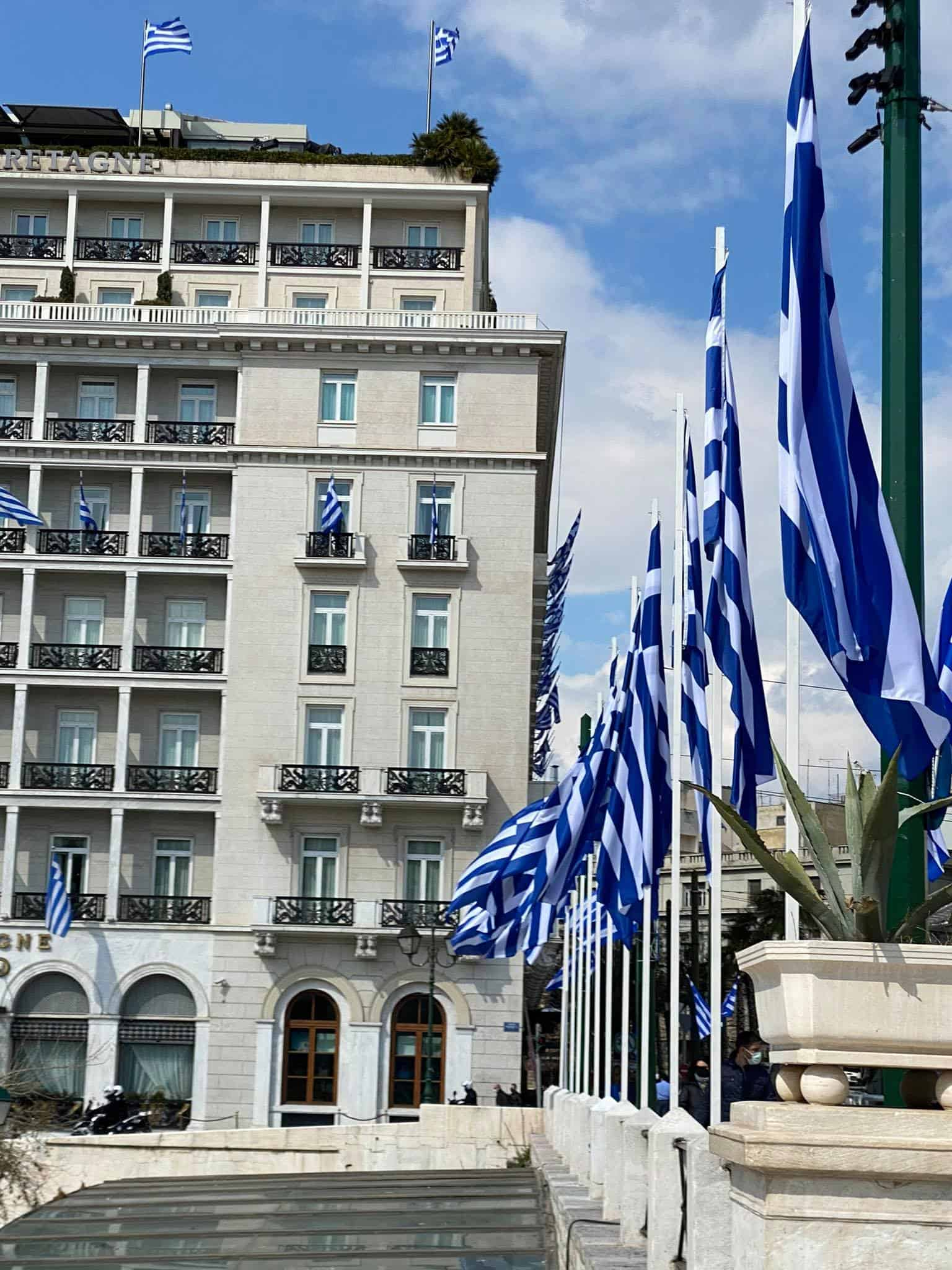 PHOTOS of Athens day before Greek War of Independence bicentennial anniversary 10