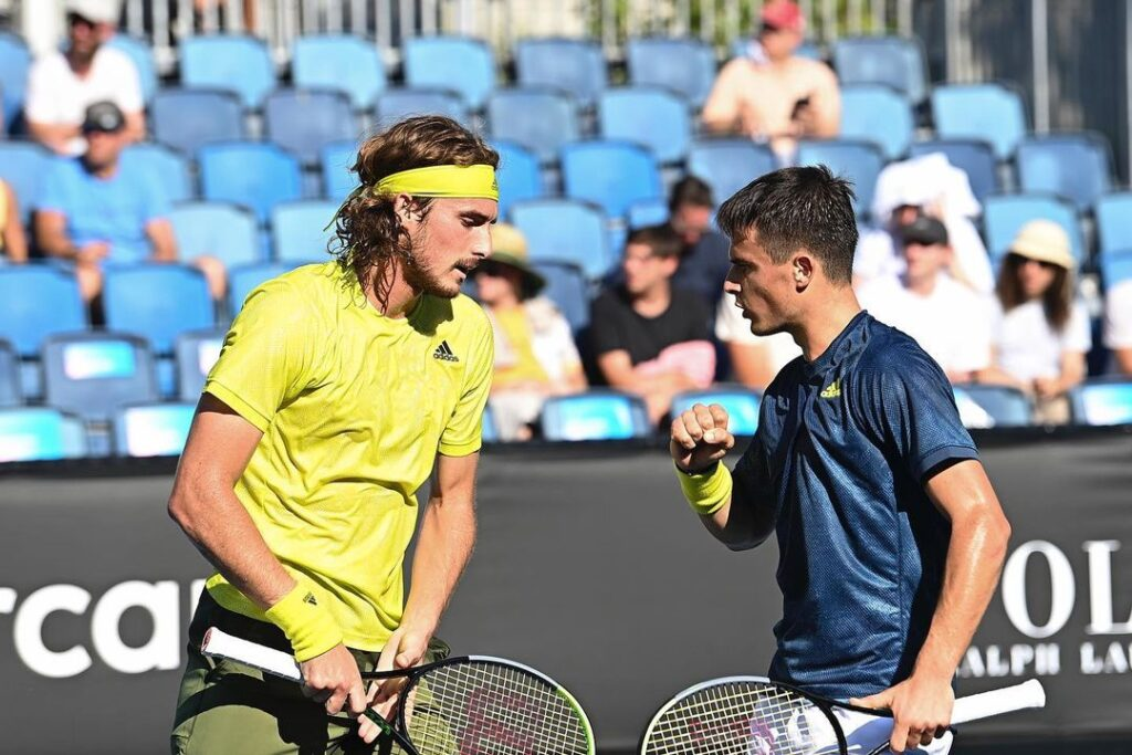 Stefanos Tsitsipas pledges to donate €3,000 for every doubles win with his brother Petros