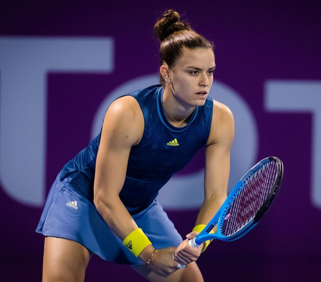 Maria Sakkari into Qatar Open second round