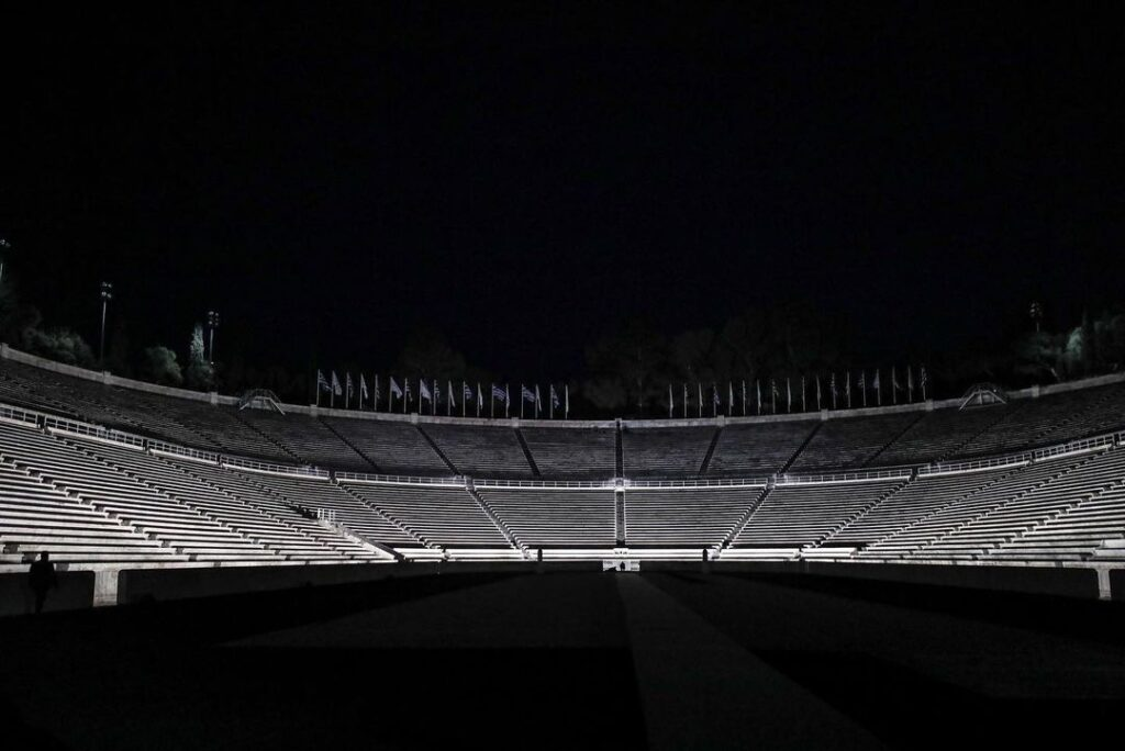New lighting system at Panathenaic Stadium