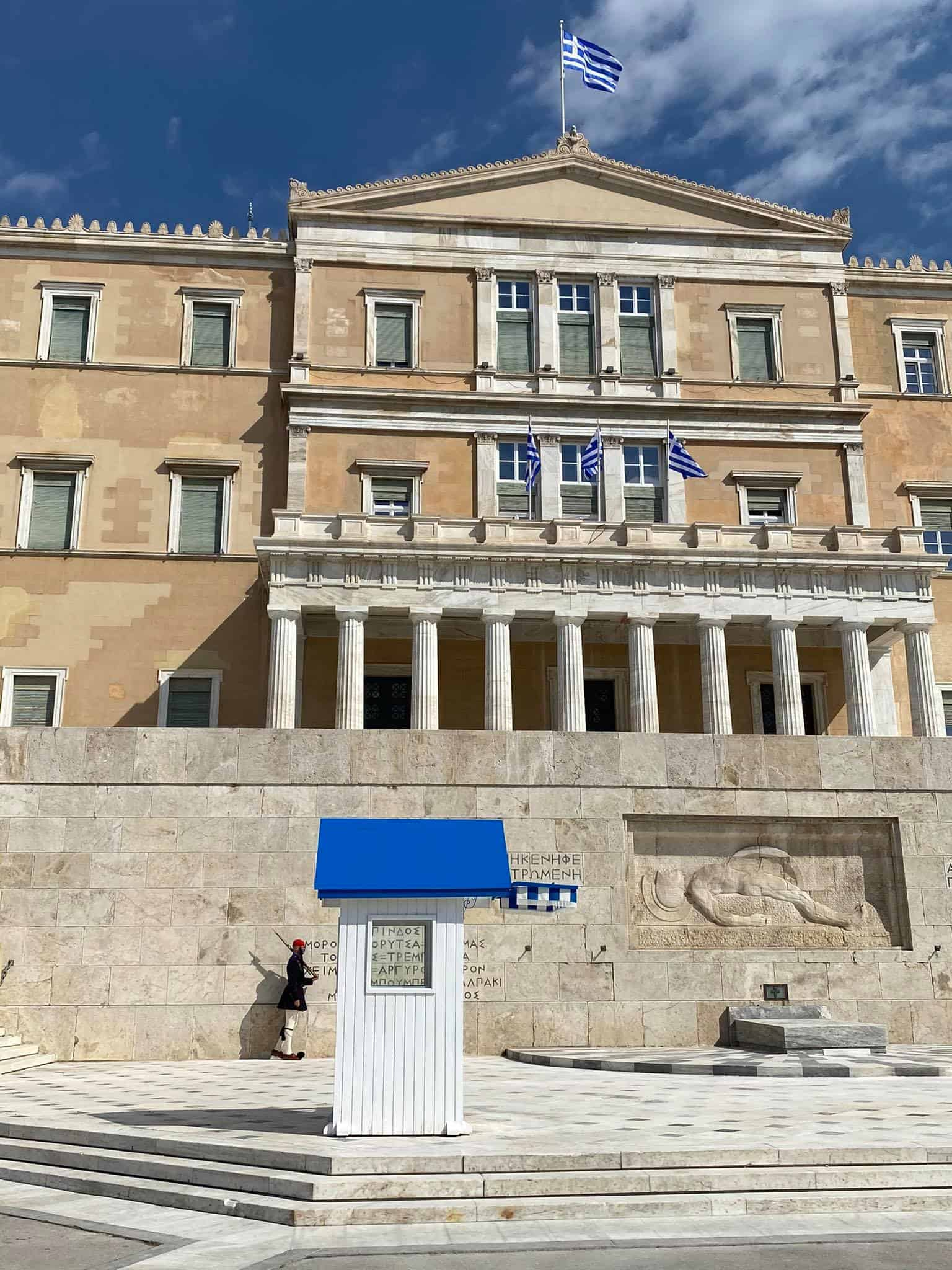 PHOTOS of Athens day before Greek War of Independence bicentennial anniversary 14