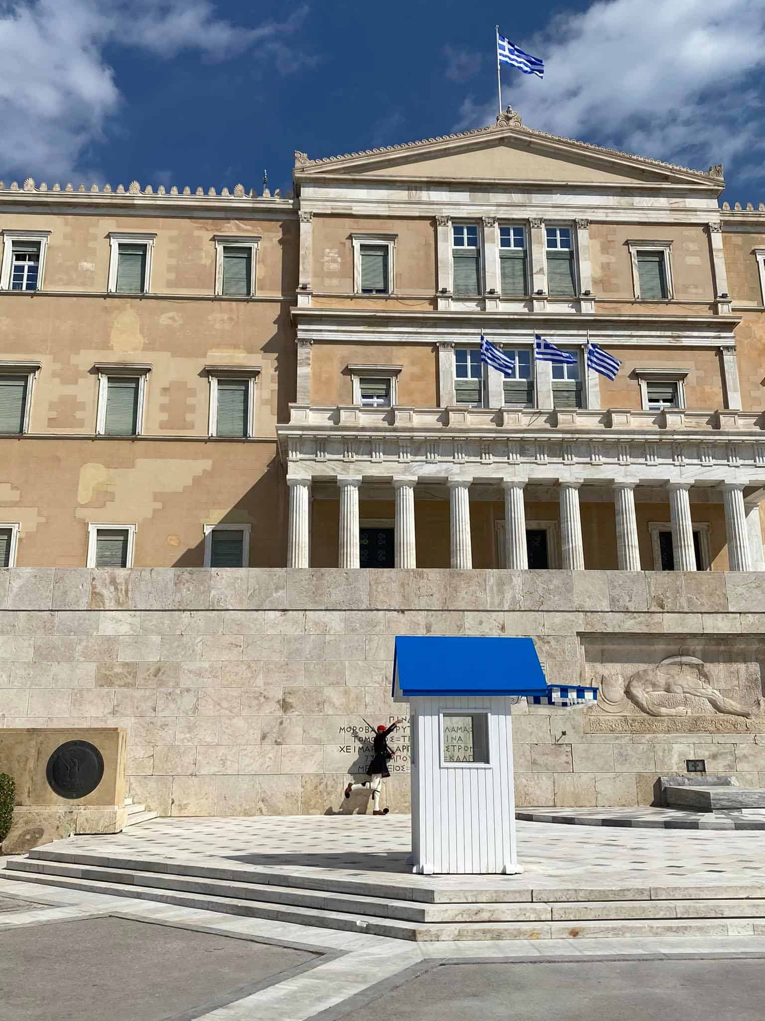 PHOTOS of Athens day before Greek War of Independence bicentennial anniversary 16