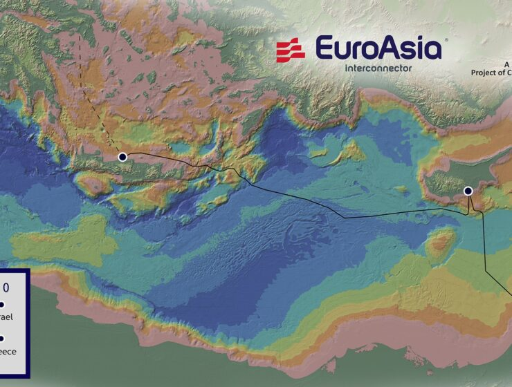 Cyprus, Israel and Greece on Monday signed a memorandum of understanding for the EuroAsia Interconnector 1