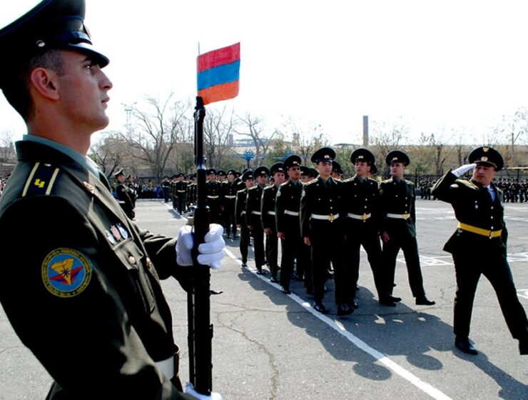 Armenian soldiers army