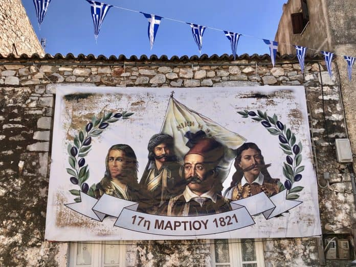 On this day in 1821, Greek War of Independence starts in Mani