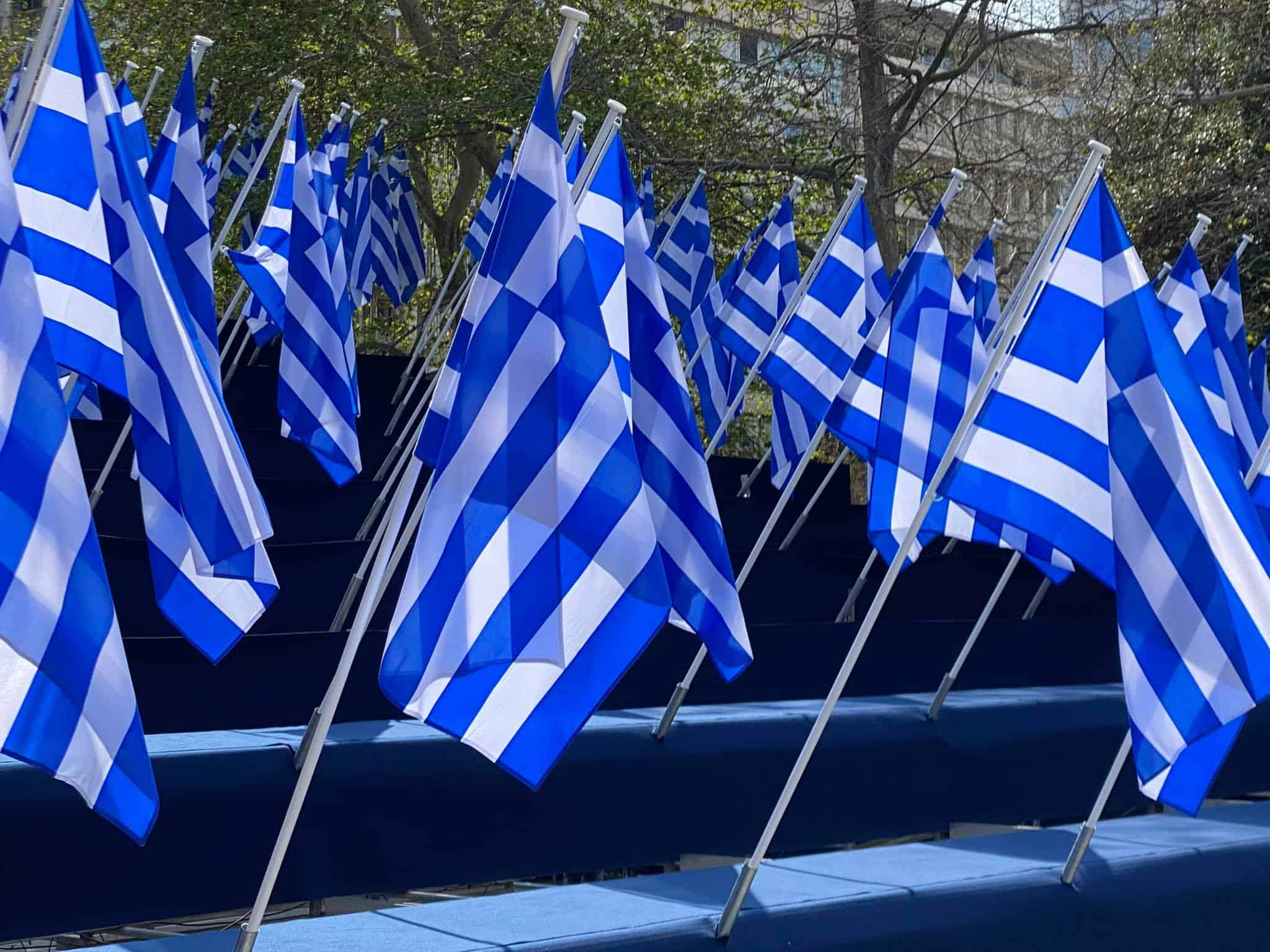 PHOTOS of Athens day before Greek War of Independence bicentennial anniversary 8
