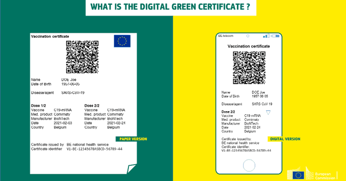 EU unveils 'Digital Green Certificate' to allow travel by summer
