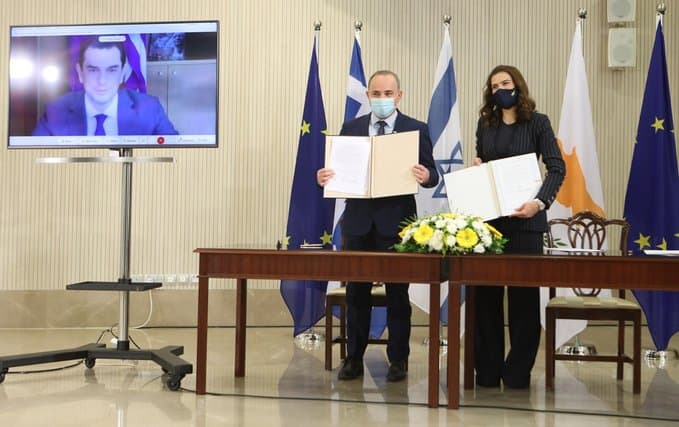 Greece, Cyprus and Israel sign EuroAsia Interconnector MoU