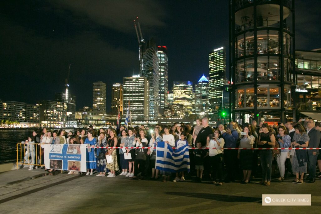 Sydney Opera House lights up for Greece's Independence Bicentennial
