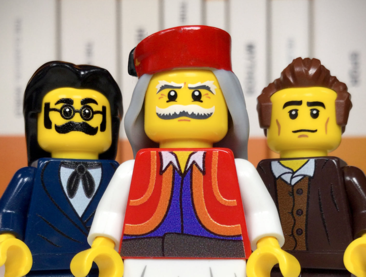 Lego figurines honour Greek Independence Day