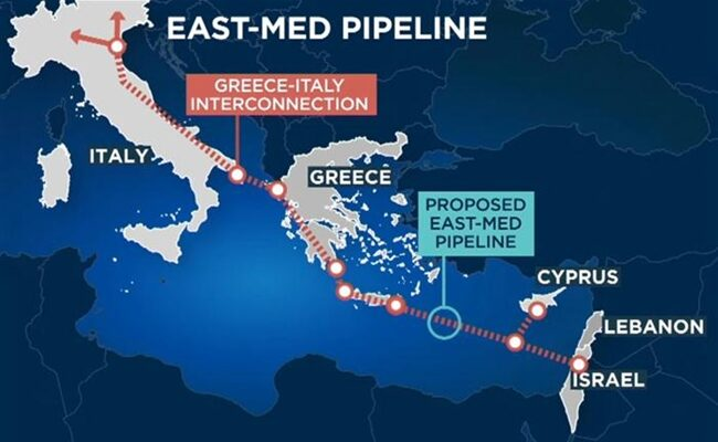 EastMed pipeline could be ready in five years