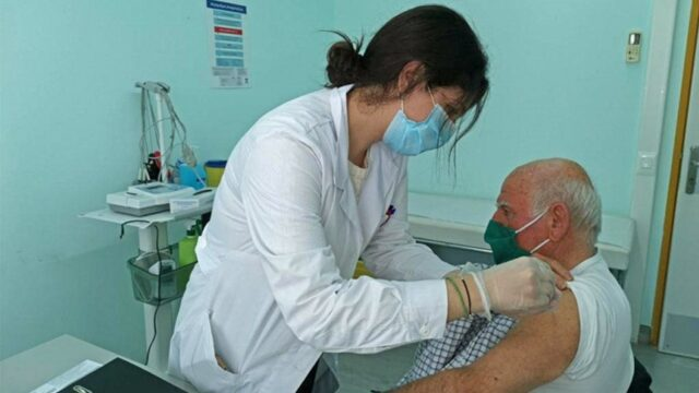 George Georgantas Greece to vaccinate all citizens over 60 by May